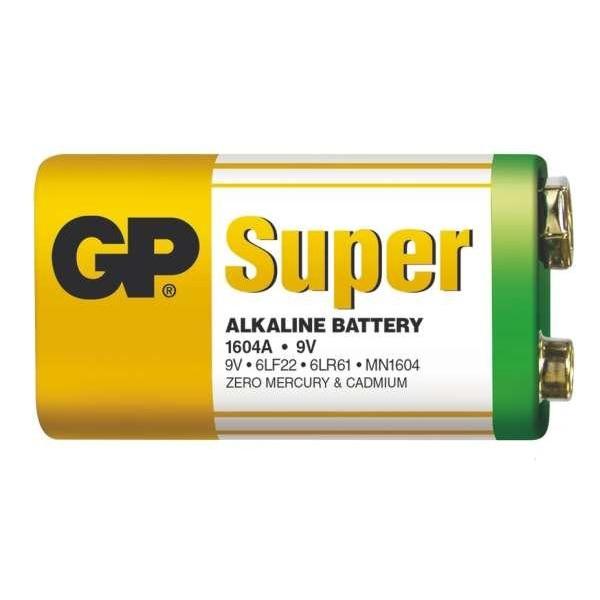 GP baterie Alkaline LR9V /1604 9V