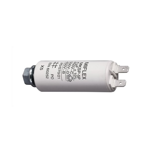 Kondenzátor rozběhový motorový 4,0uF/450V