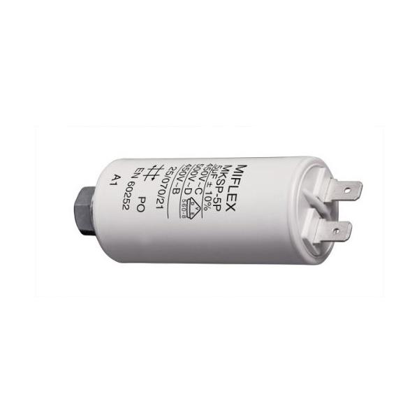 Kondenzátor rozběhový motorový 5,0uF/450V