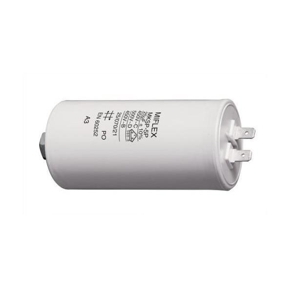 Kondenzátor rozběhový motorový 25,0uF/450V