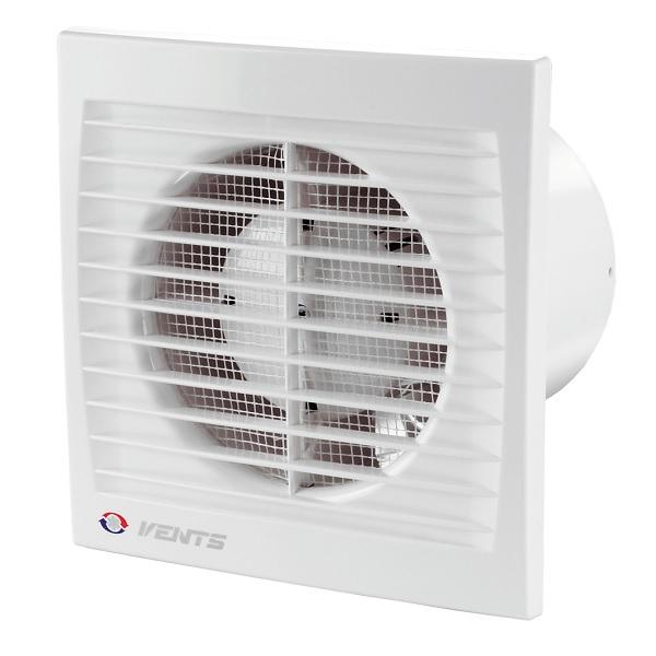 Ventilátor Vents 125 STHL ložiska časovač spinač vlhkosti