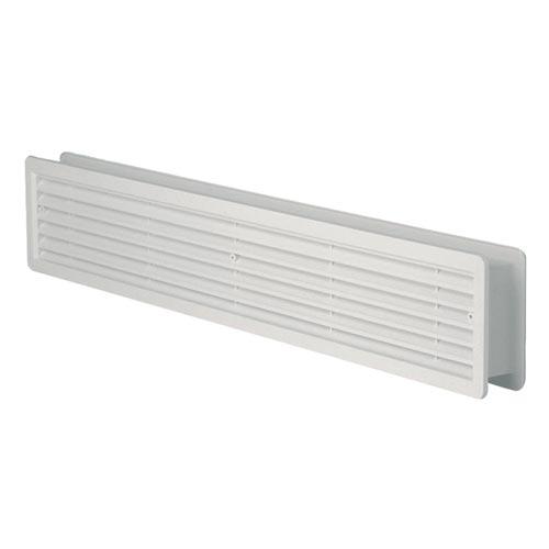 Větrací mřížka do dveří VM 400x130 DB bílá /set/ Haco