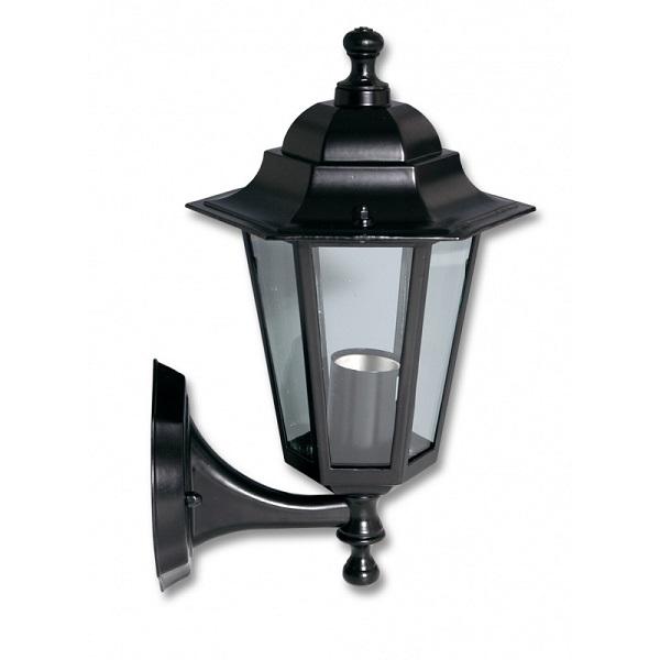 Světlo venkovní černé, Lucerna Z6101-CR nástěnná Ecolite