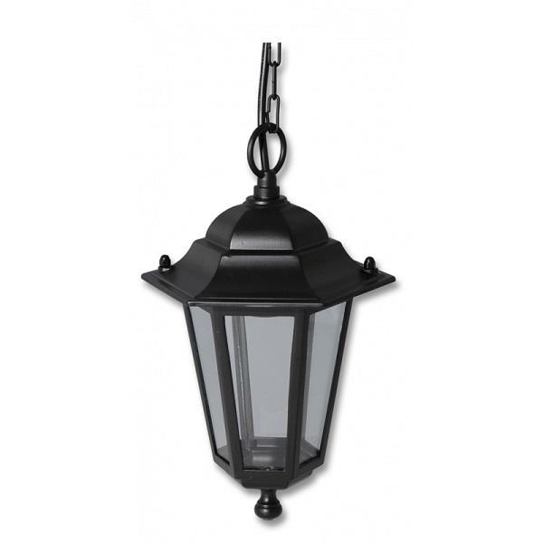 Světlo venkovní černé, Lucerna Z6105-CR závěsná Ecolite