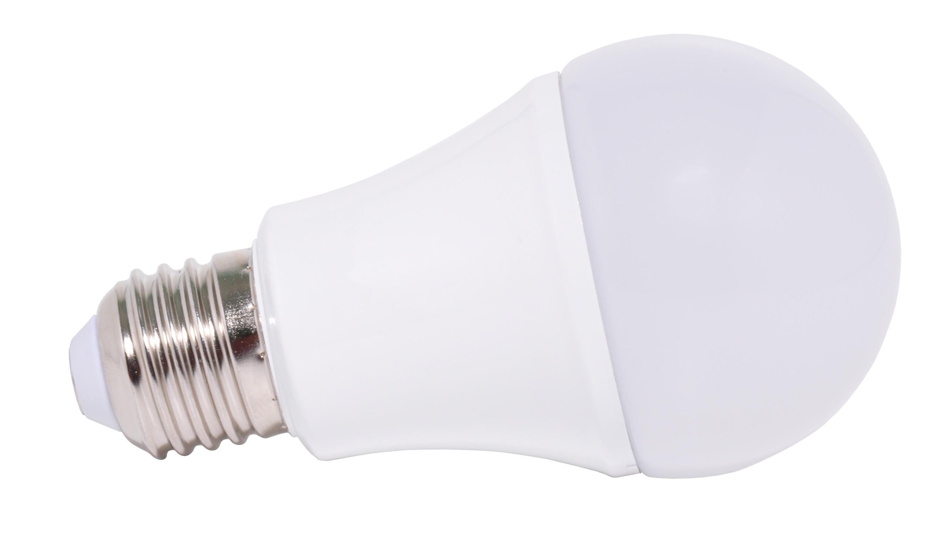 LED žárovka E27/230V 5W LED5W-A60/E27/3000K teplá bílá Ecolite