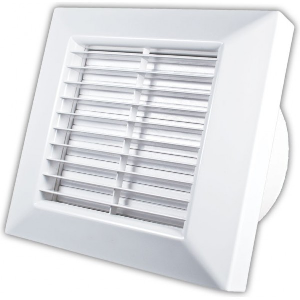 Ventilátor s regulací a automatickou žaluzií PRIMO A 100 IPX5 Dospel
