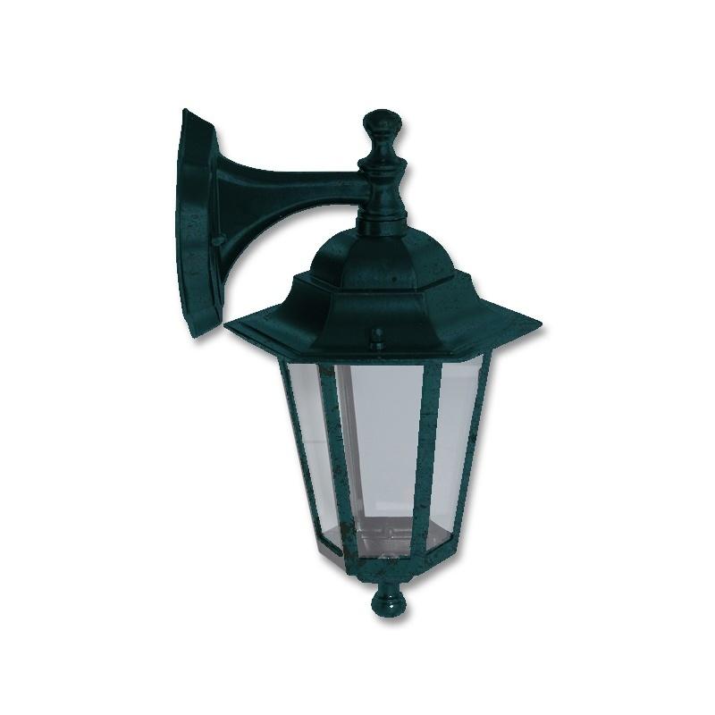 Světlo venkovní patina, Lucerna Z6102-PAT nástěnná Ecolite