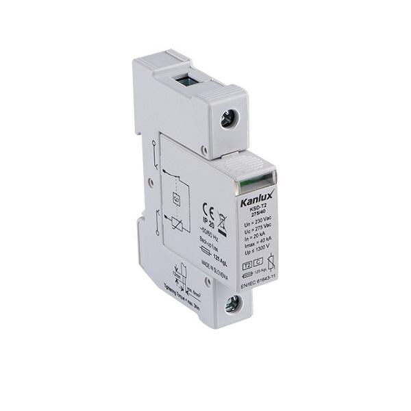Přepěťová ochrana Kanlux KSD-T2 275/40/1P na DIN lištu