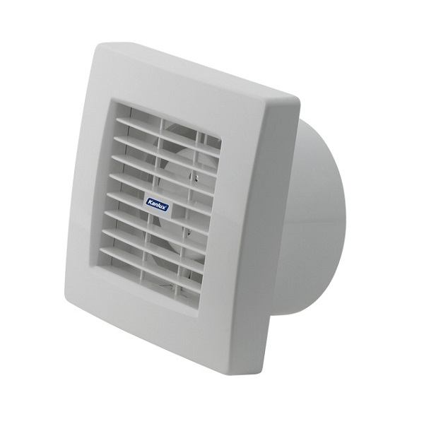 Ventilátor Kanlux TWISTER AOL120T se žaluzií a časovým spinačem