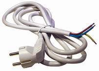 Flexo kabel 3m/3x1,5 bílá šňůra/PVC Emos