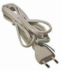 Flexo kabel 3m/2x0.75 bílá šňůra/PVC Emos