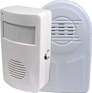 Alarm s pohybovým čidlem PIR s bezdrátovým přenosem 4485