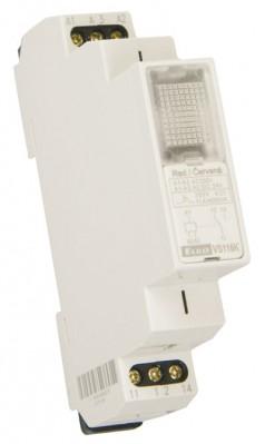 Stykač VS116K Red Pomocné relé 230V AC/24V AC/DC Elko